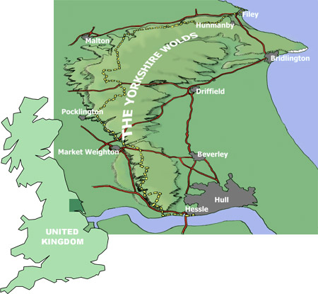 Yorkshire Wolds Heritage Trust | About the Wolds